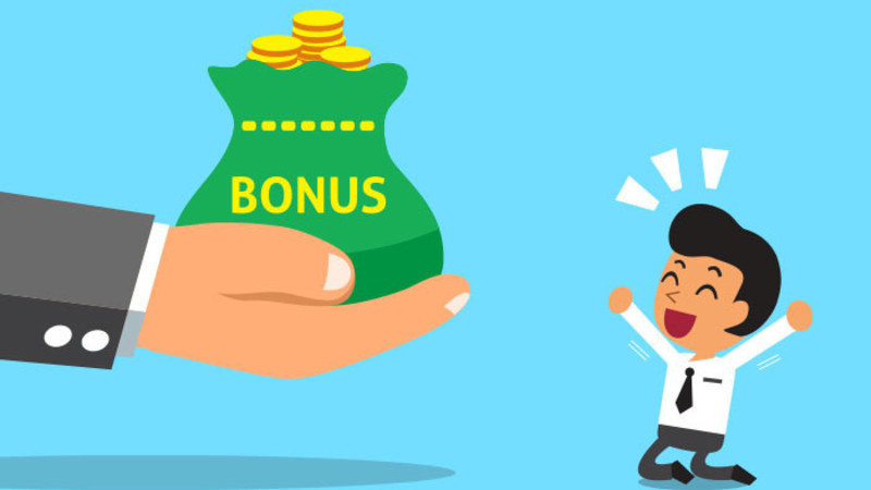 receiving bonus