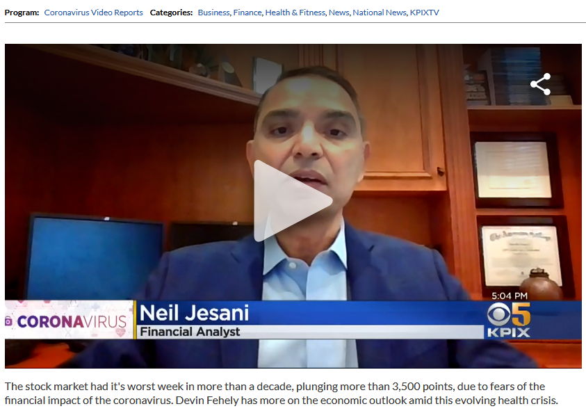 CBS News with Financial Expert Neil Jesani