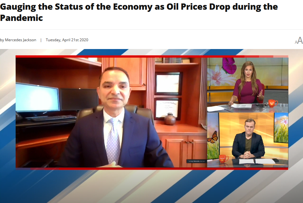 Neil Jesani with Fox 28 Interview over Oil prices drop